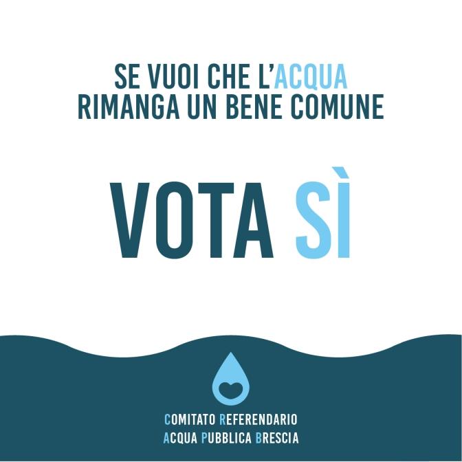 L'acqua bene indispensabile.  Variazione della tariffa a partire dal 2009 al 2018 Da Sogeim ad AOB2 fino ad Acque Bresciane. Storia dell'oro blu